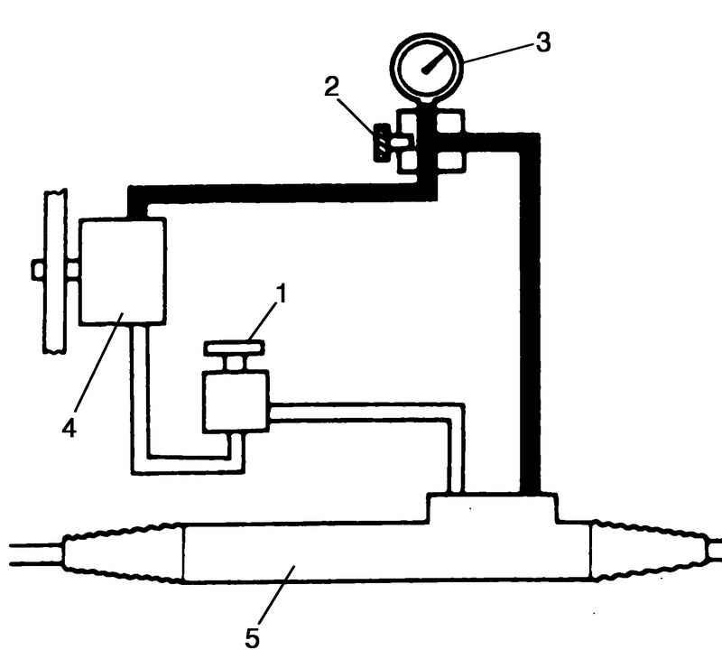 4 – насос гидроусилителя;